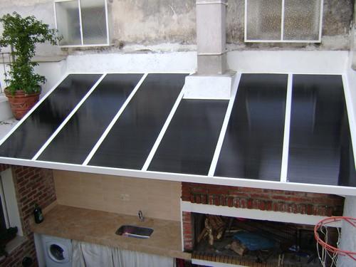 Pirez aluminio ventanas puertas aberturas aluminio montevideo uruguay - Cerramientos patios interiores ...